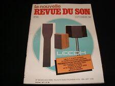 LA NOUVELLE REVUE DU SON<>SEPTEMBER 1984<>FRENCH AUDIO MAG.°#80°McINTOSH MCC1000