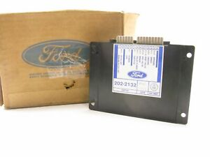 Ford E8BZ-9D757-A Cruise Speed Control Regulator Module - 1988-1990 Ford Festiva