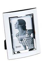 Fotorahmen Bilderrahmen White für 10x15cm weiß Silber Metall Formano