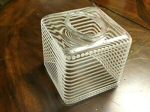 Labrazel Clear Crystal Pearl Frost Crystal Tissue Box Cover - Italy