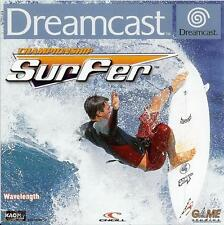 CHAMPIONSHIP SURFER            -----   pour SEGA DREAMCAST  / BE