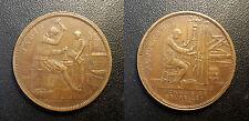 Belgique - jeton - monnaie de Bruxelles 1910 A. Michaux