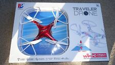 TRAVELER DRONE WIFI HD VIDEO CAMERA 6-AXIS GYRO  BOXED NEW