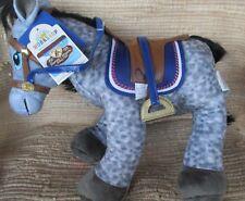 "Babw Horses & Hearts GraySpotted Appaloosa Horse18"" Stuffed Saddle/Sound NewTag"