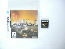 NEED FOR SPEED UNDERCOVER boxed Nintendo DS game