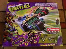 """Carrera GO!!! """"Teenage Mutant Ninja Turtles"""" 1:43 Slot Car Set"""
