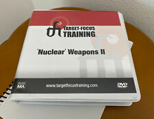 """Tft Target-Focus Training """"Nuclear Weapons Ii� 4 Disk Set With manual"""
