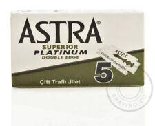 Astra Superior Platinum Double Edge (DE) Razorblade - 5 Blades (1 pack)