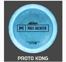 Discraft ESP Kong Paul McBeth Proto (Stock Photo) Sweet Spot Disc Golf