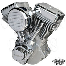 "Natural 127"" Ultima Engine El Bruto Evolution Motor for Harley Evo Engine 84-99"