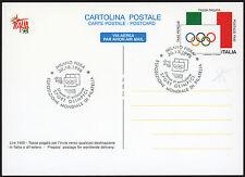 REPUBBLICA 1998 - INTERO POSTALE L. 1.400 OLIMPIADI, CARTOLINA POSTALE AS FDC