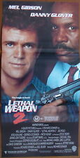 Aust.daybills LEATHAL WEAPON 1 & 2 Mel Gibson No 3 1 sheet is extra