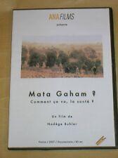 DVD DOCUMENTAIRE / MATA GRAHAM ? COMMENT CA VA LA SANTE ? / RARE / TRES BON ETAT