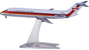 1:200 Herpa Garuda Indonesia McDonnell Douglas DC-9-30 Airplane Diecast Model