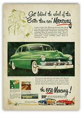 Metal Wall Sign - Various 1950s Mercury Plaques Defunked Automobile Car Vintage