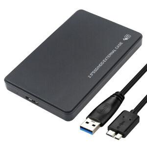 "2.5"" SATA USB 3.0 Hard Drive Disk HDD SSD Enclosure External Laptop Case"