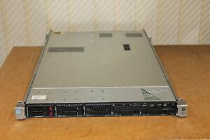 HP Server DL360p Gen8 G8 2x 6C Xeon E5-2630 / 2.3 GHz / 128GB / 2x Caddy / Rails