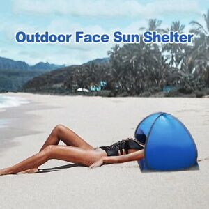 Summer Portable Outdoor Camping Beach Face Tent Umbrella Small Awning Mini tent