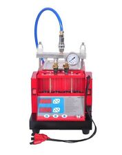 motorcycle 4 cylinder ultrasonic fuel injector tester and clean machine MST-30