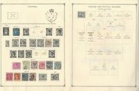 Australia States Collection on 3 Scott International Pages, Victoria, Western