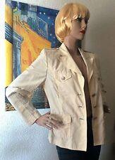 Einreihige Damen-Anzüge & -Kombinationen aus Baumwolle mit Jacket/Blazer und Unifarben