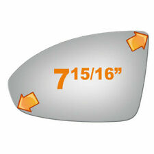 New Flat Driver Side Replacement Mirror Glass For 2011-2016 Chevrolet Cruze