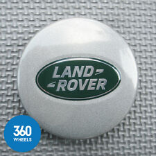 1 NEW GENUINE LAND ROVER ALLOY WHEEL CENTRE CAPS SILVER RANGE LR089427 LR023302
