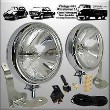 BMW Mini R50 52 R53 2001 to 2006 Chrome Spot light Fog Lamp Bracket Wiring Kit