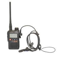 Baofeng UV-3R Mini Walkie Talkies Dual band UHF/VHF Ham CTCSS Two-Way Radio