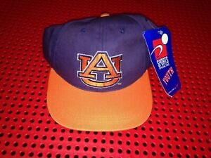 Vintage Sports Specialties Auburn Tigers  snapback hat NWT YOUTH