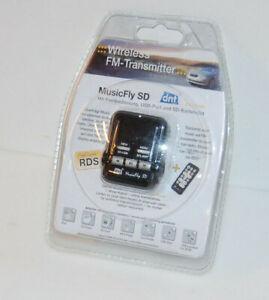 dnt MusicFly SD FM Transmitter mit Fernbedienung, Integrierter MP3-Player