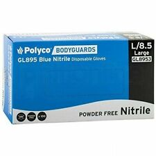 Bodyguard GL8955 Nitrile Powder Disposable Gloves - Set of 100