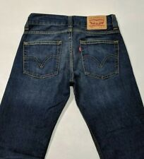 Levi's 506 Mens Jeans Regular Fit Indigo Red Tab W29 L34 RRP£95