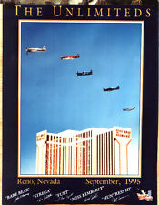 **   THE UNLIMITEDS RENO AIR RACE POSTER