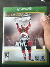 🏒Brand New!!! NHL 16: Deluxe Edition (Xbox One, 2015) Factory Sealed!!🏒