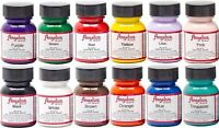 Angelus Acrylic Leather Paint /Dye - Leather & Vinyl - 1 Fl Oz Sneaker Paint