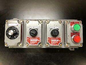 Killark SWB-20 Hazardous Location Control Station
