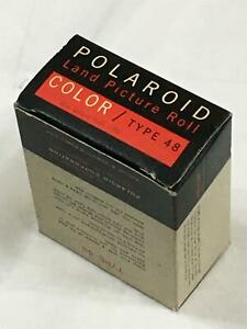 POLAROID LAND PICTURE ROLL SPEED 75 COLOR FILM - TYPE 48 - NOV 1963