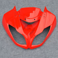 Upper Fairing Cowl Nose Fit For Kawasaki Ninja ZX6R ZX636 2009-2012 Red ZX600R
