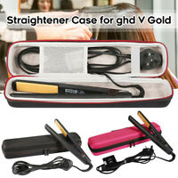 Travel Protective Hair Straightener Case for GHD IV Gold Styler Carry Bag Box