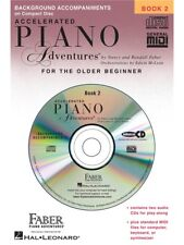 Nancy & Randall Faber Accelerated Piano Adventures Lesson 2 CD Play Piano CD