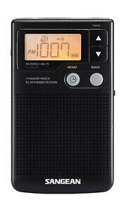 Sangean DT-200X FM-Stereo/AM Digital Tuning Pocket Radio
