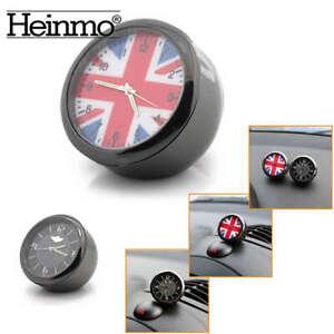 Union Jack Car Clock Dashboard Decor Accessories For MINI Cooper R56 R60 F55 F56