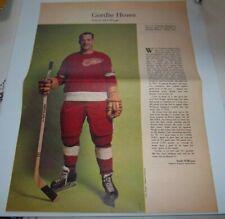 Gordie Howe # 7 Weekend  Magazine Photos 1963-64  Toronto Star lot 4