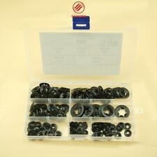 280Pcs Inner Tooth Star Lock Push Washer Speed Clip Fastener Classification Kit