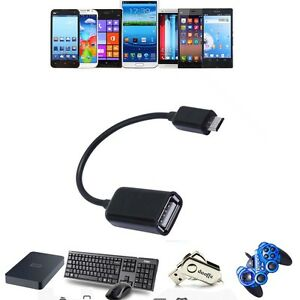 USB Host OTG AdapterCable For Samsung Galaxy Tab 3 GT-P5200GT-P5220 ZWYXAR_gm