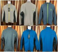 NEW Men's Spyder Sweater Jacket Full Zip Heavy Layering Variety Warm