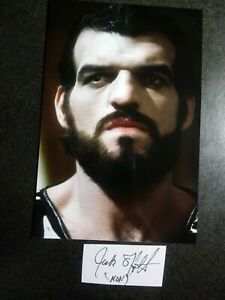 JACK O'HALLORAN As NON Hand Signed Autograph CUT With 4X6 Photo - SUPERMAN