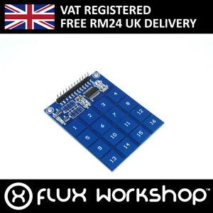 3pcs TTP229 16 Channel Touch Sensor Keypad Capacitive Switch Flux Workshop