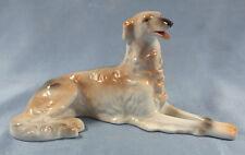Barsoi Windhund Figur Hund barsoi figur hundefigur Wallendorf porzellan